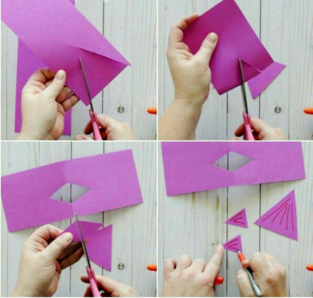 مراحل ساخت ماهی کاغذی